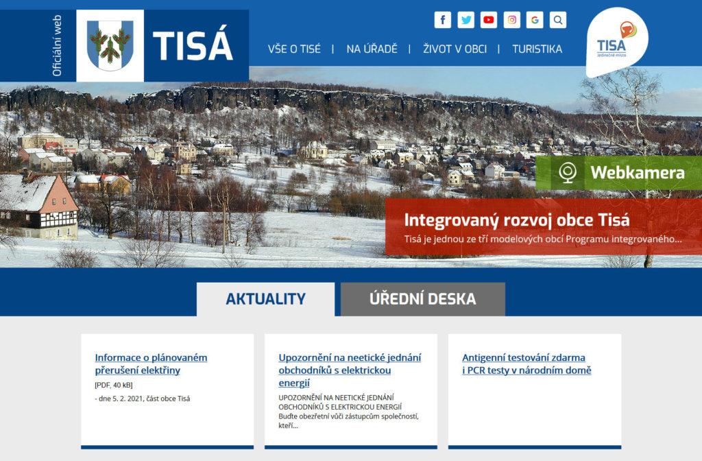 Web - Obec Tisá